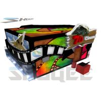 Buy cheap Safety Hydraulical Control 7D Movie Theater Equipment With Simulation System product