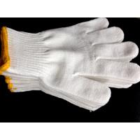 Buy cheap 10G Cotton working gloves,knitted cotton gloves,bleached white colour from wholesalers