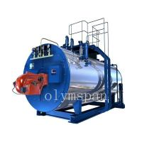 Buy cheap High Pressure Gas Fired Steam Boiler , 1 Ton Atomized Steel Steam Gas Heating product