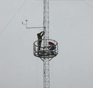 Buy cheap Hot sale galvanized steel guyed antenna triangular tower product