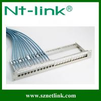Buy cheap 24 port STP modular patch panel from wholesalers