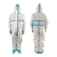 Buy cheap Polypropylene Non Woven Waterproof Isolation Gown Single Use Non Irritating product