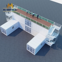 Buy cheap Furnished Transportable Site Office Building Galvanized Steel Frame from wholesalers