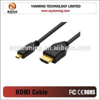 Buy cheap 2.0V HD MI to Micro HD MI Cable With Ethernet 4K 3D 1080P for computer PC and mobile phoner from wholesalers