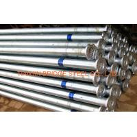 Buy cheap Zinc Coated Galvanized Steel Pipe For Air Vapor , 400mm 300mm GB/T3091 from wholesalers