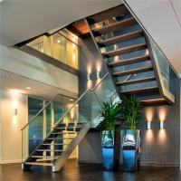 Buy cheap Prima Stainless Steel u Channel Glass Stair Railing from wholesalers