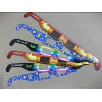 Buy cheap Disposable 3D Firework Glasses For Holiday , Cardboard Frame 3d Glasses product