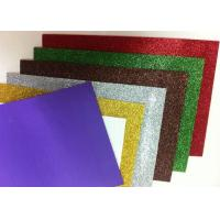 Buy cheap Paper Printed Self Adhesive Glitter Foam Sheets , Water - Proof Craft Glitter Foam Sheets from wholesalers