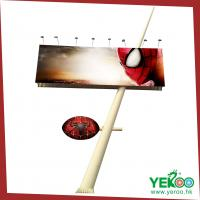 Buy cheap strong wind resist billboard construction flex banner advertising from wholesalers