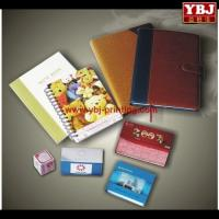 China china guangzhou ybj notebook recycle black a4 fake leather note book on sale