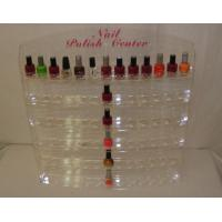 Buy cheap Custom Acrylic Cosmetic Display Holder,Nail Polish Wall Rack Display product