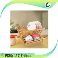 Buy cheap hot sale high quality bamboo dish rack from wholesalers