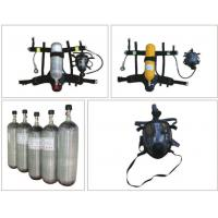 Buy cheap SOLAS Personal Protective Equipment Of Carbon Fiber Gas Cylinder SCBA from wholesalers