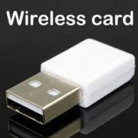 Buy cheap Nano WiFi USB Dongle CE/FCC Certified, RoHS Directive product