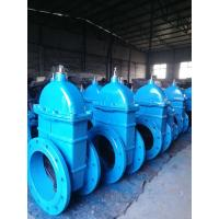 Buy cheap BS5163 DIN3302 Ductile Cast Iron Rubber Coated Gate Sluice Valve (Z45X-10/16) from wholesalers