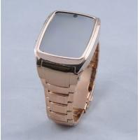 Buy cheap GD999 Watch Mobile Phone,Wrist Mobile Phone,Watch Cellphone Steel Case Quad Band Java Came from wholesalers