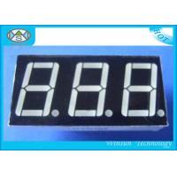 Buy cheap 0.8 Inch 7 Segment Led Displays , Counter Display Three 3 Digit For Household Eletronics from wholesalers