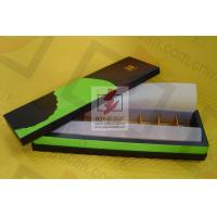 Buy cheap Printed Food Presentation Boxes / Recyclable Food Packaging Box from wholesalers