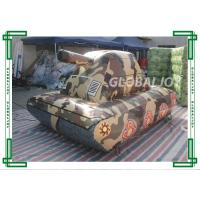 Buy cheap Customized Camouflage Inflatable Paintball Bunkers Sporting Air Tank from wholesalers