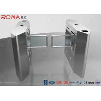 Buy cheap Luxury Automatic Security Access Control Swing Barrier Gate System With Rfid Identification product