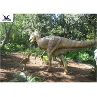 Buy cheap High Simulation Animatronic Giant Dinosaur Statue Water / Corrosion Resistant product