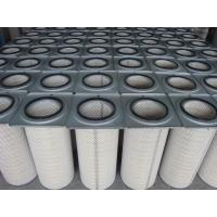 Buy cheap Cement Industry Industrial Air Filter Cartridges / Pleated Filter Bags Dust Collectors from wholesalers