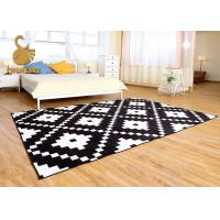 Buy cheap Outdoor / Indoor Area Rugs With PVC Coated Dots Wear Resistance Sound Reduction product