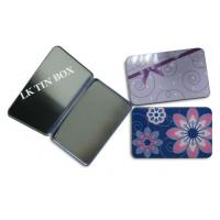 Buy cheap Protect Packaging Small Tin Box For Women Sanitary Pad Tampax Compak from wholesalers