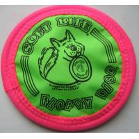 Buy cheap Colorful Trainning play foldable Frisbee dogs from wholesalers