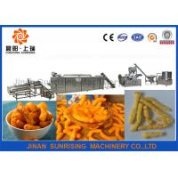 Buy cheap Baking Kurkure Cheetos Nik Naks Snack Food Making Machine Gas Electricity Energy Sources from wholesalers