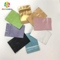 Buy cheap Full Color Aluminum Foil Pouch Packaging Ziplock Flat 3 Side Sealed Bags from wholesalers