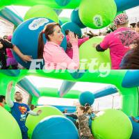 Buy cheap Kids / Adults Big Inflatable Balls For Interesting 5K Sport Game 3 Years Warranty from wholesalers