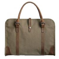 Buy cheap Custom Logo Canvas Mens Officeworks Laptop Bag 42x7x32cm Personalized Design from wholesalers