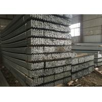 Buy cheap Q235B Large Stock Hot Rolled Mild Steel Angle Bar ASTM 40 * 4MM Size Black from wholesalers