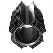 Buy cheap Hollow Aluminum Extrusion Extruded Aluminum Heatsink 6000 Series T5 T6 from wholesalers