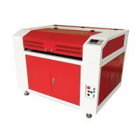 High Speed Leather Laser Cutting Machine , Safe / Smart Leather Etching Machine