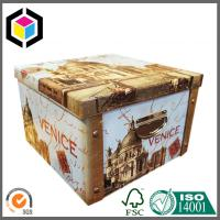 Buy cheap Glossy Color Printing Cardboard Storage Box; Easy Setup Paper Gift Box from wholesalers