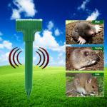 Buy cheap Outdoor Ultrasonic Pest Repeller Gopher Sonic Spike Solar Mole Repeller from wholesalers