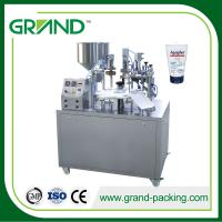 Buy cheap Easy Operation Semi Automatic Tube Filling And Sealing Machine NF-30 Smooth Cutting product