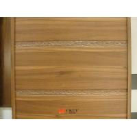 Buy cheap Carving PVC Veneer MDF CARB2 Modern Interior Sliding Doors MDF Board from wholesalers