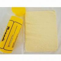 Buy cheap PVA Chamois with Plastic Tube Packing, Ideal for Car or Household Cleaning from wholesalers