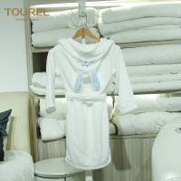 Buy cheap 5 Star Hotel Quality Bathrobes / Girls Soft Robe Fit Spring And Autumn from wholesalers