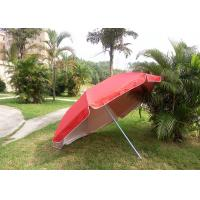 Buy cheap Red Outdoor Advertising Umbrellas With 420D Polyester Fabric , Water Tank Base from wholesalers