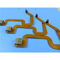 Buy cheap Double Sided Flexible PCB Built On Polyimide With 90 OHM Impedance Control from wholesalers