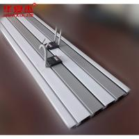 Buy cheap Plastic Strong Slat Garage Wall Panels UPVC Display For Basement from wholesalers