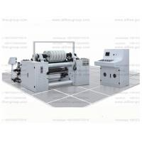 Buy cheap 400m/m High-speed paper slitting machine and rewinding for 25-120g/m2 cigarette/tipping/label roll paper for package from wholesalers