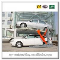 Buy cheap 2000KG CE Cheap and High Quality Two Vehicles Underground Mini Tilting Parking Lifts product