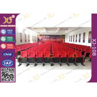 Buy cheap Movable Folded Church Furniture Chairs Electrostatic Spraying Feet Floor Mounted from wholesalers