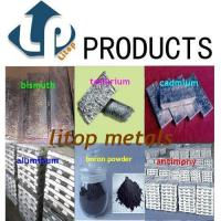 Buy cheap High purity indium,gallium,tellurium,selenium,tin,antimony,zinc,bismuth,copper,aluminum,cadmium from wholesalers