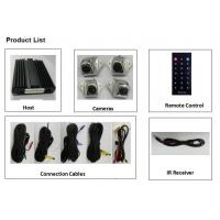 Buy cheap 2D images Bus Camera Systems for Construction Vehicles / HD 360 Surround View Monitoring System product